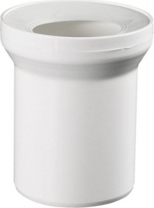 Sapho Přímý kus odpadní k WC, prům. 110 mm, délka 400 mm 3240