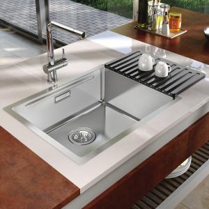 Nerezový dřez Sinks BOXSTEP 790 RO 1,0mm + VERSUS RDBSK7904501RO