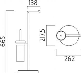 Nimco Unix Stojánkový WC set UN 13095K-26