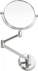 Bemeta OMEGA E závěsné kosmetické zrcátko průměr 150mm, chrom 106301122
