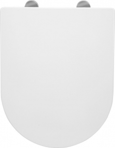 Sapho LISA WC sedátko Soft Close, duroplast, bílá 1703-746