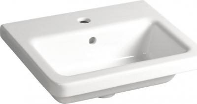Sapho CITY keramické umyvadlo hranaté 50x18x40cm KE050