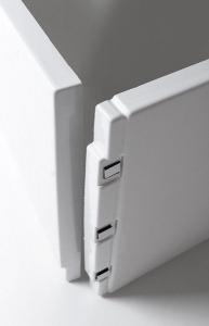 Polysan PLAIN panel čelní 160x59cm, levý 72606