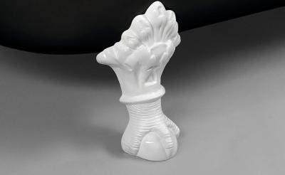 Polysan FOXTROT volně stojící vana 170x75x64cm, nohy bílé, černá/bílá 72962