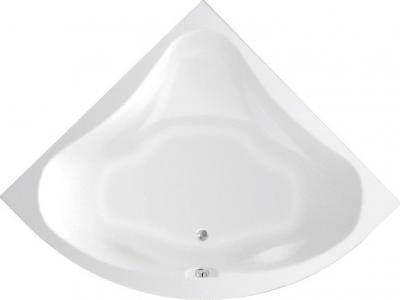 Aqualine DUNAJ II rohová vana 140x140x48cm, bez nožiček, bílá G1340