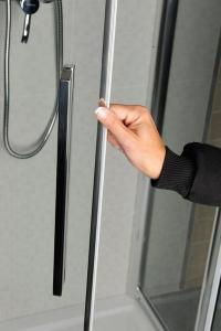 Polysan LUCIS LINE sprchové dveře 1300mm, čiré sklo DL1315