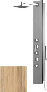Polysan FLAT CUBE sprchový panel 210x1390mm, Kokos 80722-0335