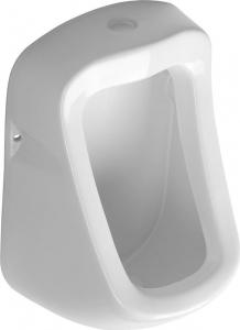 Aqualine KRUNO pisoár 49, 5x31cm, horní napouštění a spodní odpad ID400