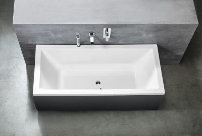 Aqualine NISA obdélníková vana 170x75x42cm, bílá A1775