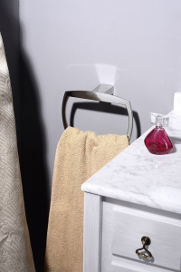 IBB LONDON držák ručníků hranatý, chrom LD07