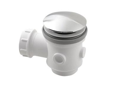 Polysan Vanový odpad, Click Clack, pro vany bez přepadu, chrom 71704