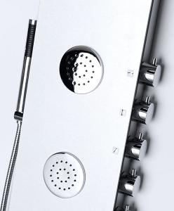 Polysan 5SIDE ROUND sprchový panel 250x1550mm, bílá 80217
