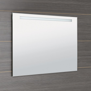 Aqualine LED podsvícené zrcadlo 100x80cm, kolíbkový vypínač ATH54