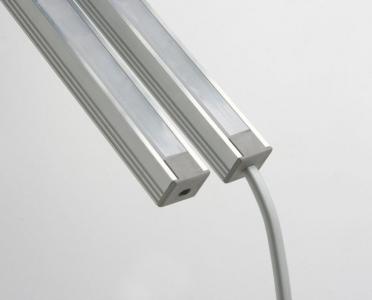 Sapho Led LED U profil 16x12mm, eloxovaný hliník, 1m KL1718-1