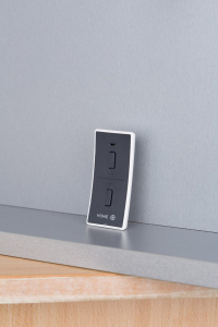 Sapho Elektrická topná tyč s termostatem a dálkovým ovládáním, 300 W, D-tvar, antracit HVD-300A