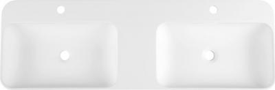 Sapho NIAGARA dvojumyvadlo, 120x14x40cm, bílá mat WN974