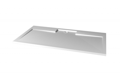 Gelco IRENA sprchová vanička z litého mramoru, obdélník 140x100x3, 5cm HI140100