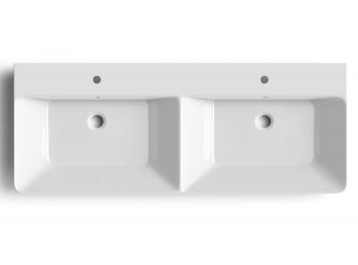 Sapho THALIE 120 nábytkové dvojumyvadlo 120x46 cm TH11120