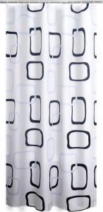Ridder GEO sprchový závěs 180x200cm, polyester 403290