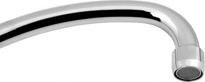 Sapho Výtoková hubice tvar J, prům. 18mm, L 229mm, 3/4', chrom 15J200