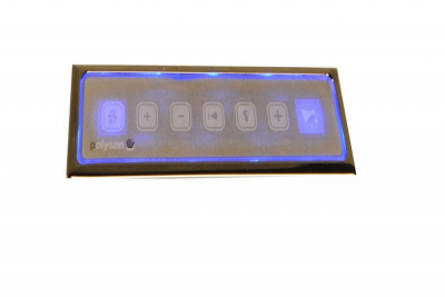 Polysan HM systém KOMBI POOL, ovládání Typ L - Elektronické s podsvícením KML