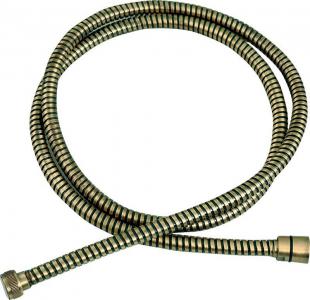 Sapho POWERFLEX opletená sprchová hadice, 150cm, bronz FLE10BRO