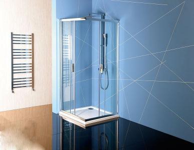 Polysan EASY LINE čtvercová sprchová zástěna 900x900mm, čiré sklo EL5115