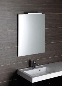 Aqualine Zrcadlo 60x70cm, obdélník, bez úchytu 22469
