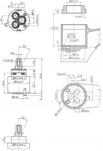 Sapho Kartuše KEROX, průměr 35mm, nízká MI35N