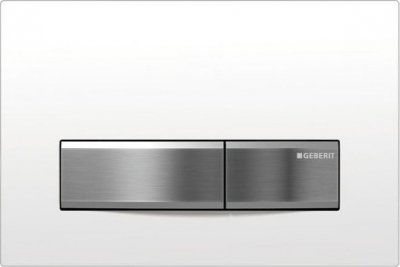 Geberit GEBERIT SIGMA50 ovládací tlačítko, pro 2 množství splachování, bílá 115.788.11.5