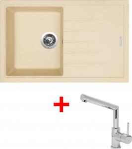 Granitový dřez Sinks BEST 780 Sahara+MIX 350P ACRB78050M350P