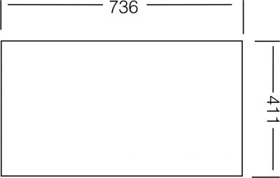Nerezový dřez Sinks COMPACT 760 V 0,5mm matný STSCMM7604355V