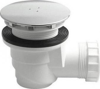 Sapho Vaničkový sifon, průměr otvoru 60 mm, DN40, krytka chrom, pro keramické vaničky 7981