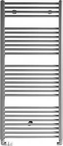 Aqualine Otopné těleso rovné 1330/450, 539 W, metalická stříbrná ILS34