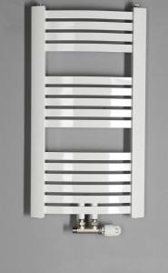 Aqualine STING Otopné těleso 550x817 mm, středové připojení, 387 W, bílá NG508