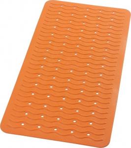 Ridder PLAYA podložka 38x80cm s protiskluzem, kaučuk, oranžová 68314
