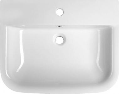 Aqualine DORI keramické umyvadlo 60x48 cm, bílá FS1B1