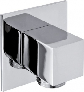 Sapho Vývod sprchy, hranatý, tenká krytka, chrom SG302