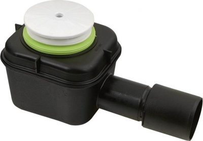 Aqualine Vaničkový sifon, průměr otvoru 50 mm, bílá 1240B