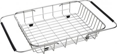 Sapho Drátěný košík ke dřezům EPIC a ZERO, 25x44x8 cm, nerez EP100