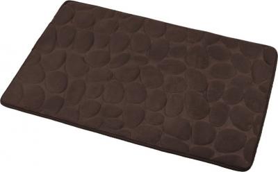 Aqualine Koupelnová předložka, 50x80 cm, 100% mikrovlákno, protiskluz, tmavě hnědá KA1143