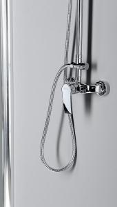 Sapho TREVIA sprchový sloup s pákovou baterií, chrom TN139