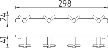 Nimco Bormo Čtyřháček s dvojitými háčky BR 11108-26