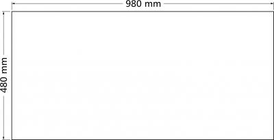 Granitový dřez Sinks PERFECTO 1000.1 Titanium ACRPE100500172