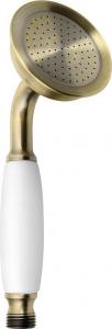 Sapho EPOCA ruční sprcha, 210mm, mosaz/bronz DOC106