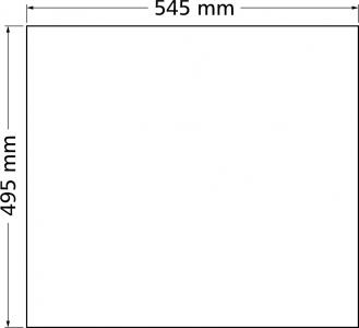 Granitový dřez Sinks SOLO 560 Milk ACRSO56051028