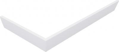 Polysan KARIA 90x80 rohový panel, výška 11 cm, pravý 63812R