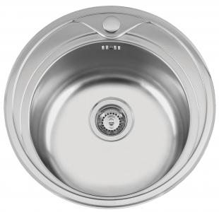 Nerezový dřez Sinks REDONDO 510 M 0,6mm matný RDREM5106M