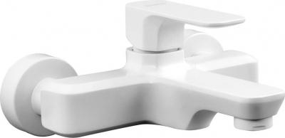 Sapho SPY nástěnná vanová baterie, bílá mat PY10/14
