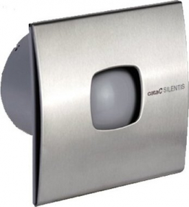 Cata SILENTIS 10 INOX koupelnový ventilátor axiální, 15W, potrubí 100mm, nerez 01070300